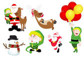 Christmas Vector Illustrations Pack — Stock Vector