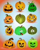 Spooky Halloween Vectors — Stock Vector