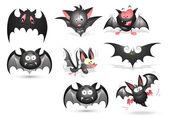 Bats Vectors — Stock Vector