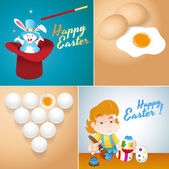 Easter Backgrounds — Stock Vector