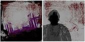 Dark urban bakgrund — Stockvektor