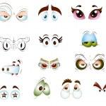 Eyes Vectors — Stock Vector