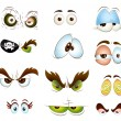 Cartoon Eyes Vectors — Stock Vector