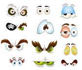 Cartoon Eyes Vectors — Stock Vector