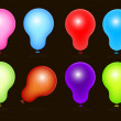 Royalty Free Balloons Vectors — Vettoriale Stock #12859597