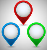 Navigational Vector Icons — Stock Vector