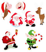 Santa Claus Vectors — Stock Vector