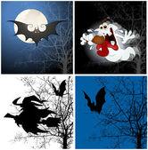 Orígenes de halloween — Vector de stock