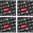 Keyboard Buttons Text Concepts Vectors - Stockvectorbeeld