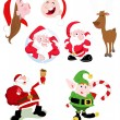 Stock Vector: SantClaus Vectors