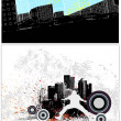 Urban Style Vector Backgrounds — Stock Vector