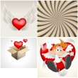Royalty-Free Stock Imagem Vetorial: Valentines Vectors