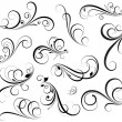 Swirls Vectors — Vettoriali Stock
