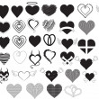 Royalty-Free Stock  : Hearts Vectors