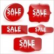 Royalty-Free Stock Vektorov obrzek: Sale Stickers Vectors