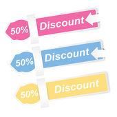 Discount Vectors — Vector de stock