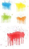 Vector Drip Paint — Stock Vector
