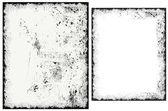 Grunge Vector Frames — Stock Vector