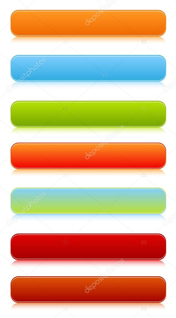 Creative Abstract Conceptual Design Art of Vector Buttons  Stock Vector #12884287