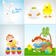 Stock Vector: Easter Vector Illustrations
