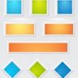 Frames Vectors — Stock Vector #13097371