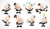 Biznes dama wektorów — Wektor stockowy