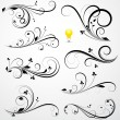 Swirls Vectors — Vector de stock #13104282