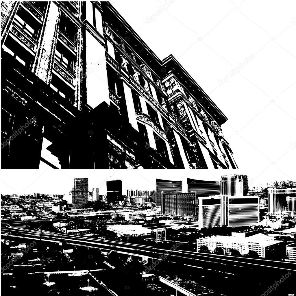 Urban View: Stock Vector © Baavli #13104647