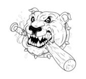 Mascot Tattoo Vector — Stock Vector