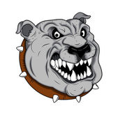 Bulldog Mascot Tattoo Vector — Stock Vector