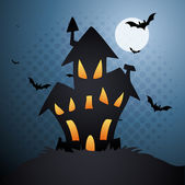 Horror House — Stock Vector