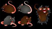 Rat Vectors — Stock Vector