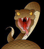 Snake Vector — Stock Vector