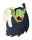 Vampire Halloween Vector — Stock Vector