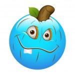 Smiley Emoticons Face Vector - Pumpkin — Stock Vector