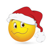 Smiley Emoticons Face Vector - Christmas Expression — Stock Vector
