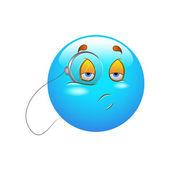 Smiley Emoticons Face Vector - Investigate — Stock Vector