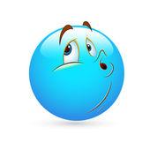 Smiley Emoticons Face Vector - Ignoring — Stock Vector