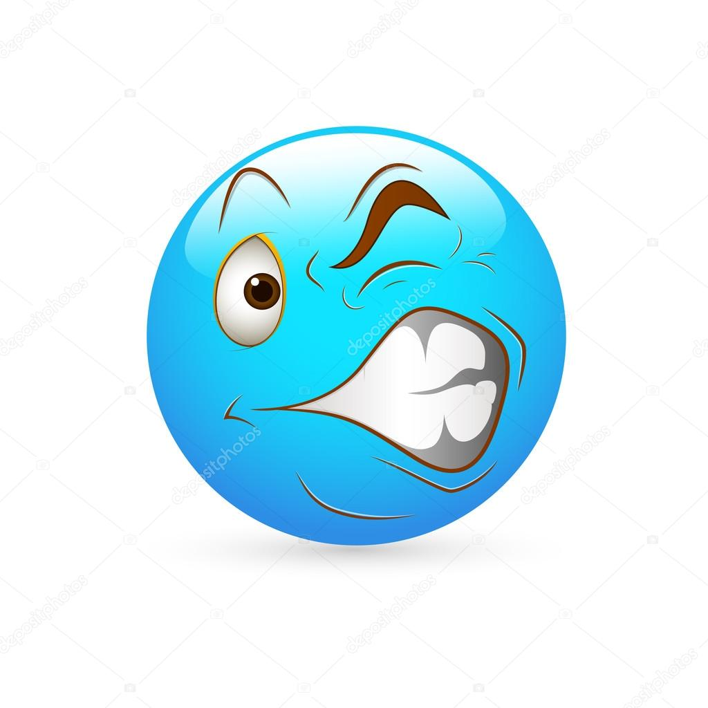 the gallery for gt scared face emoticon text
