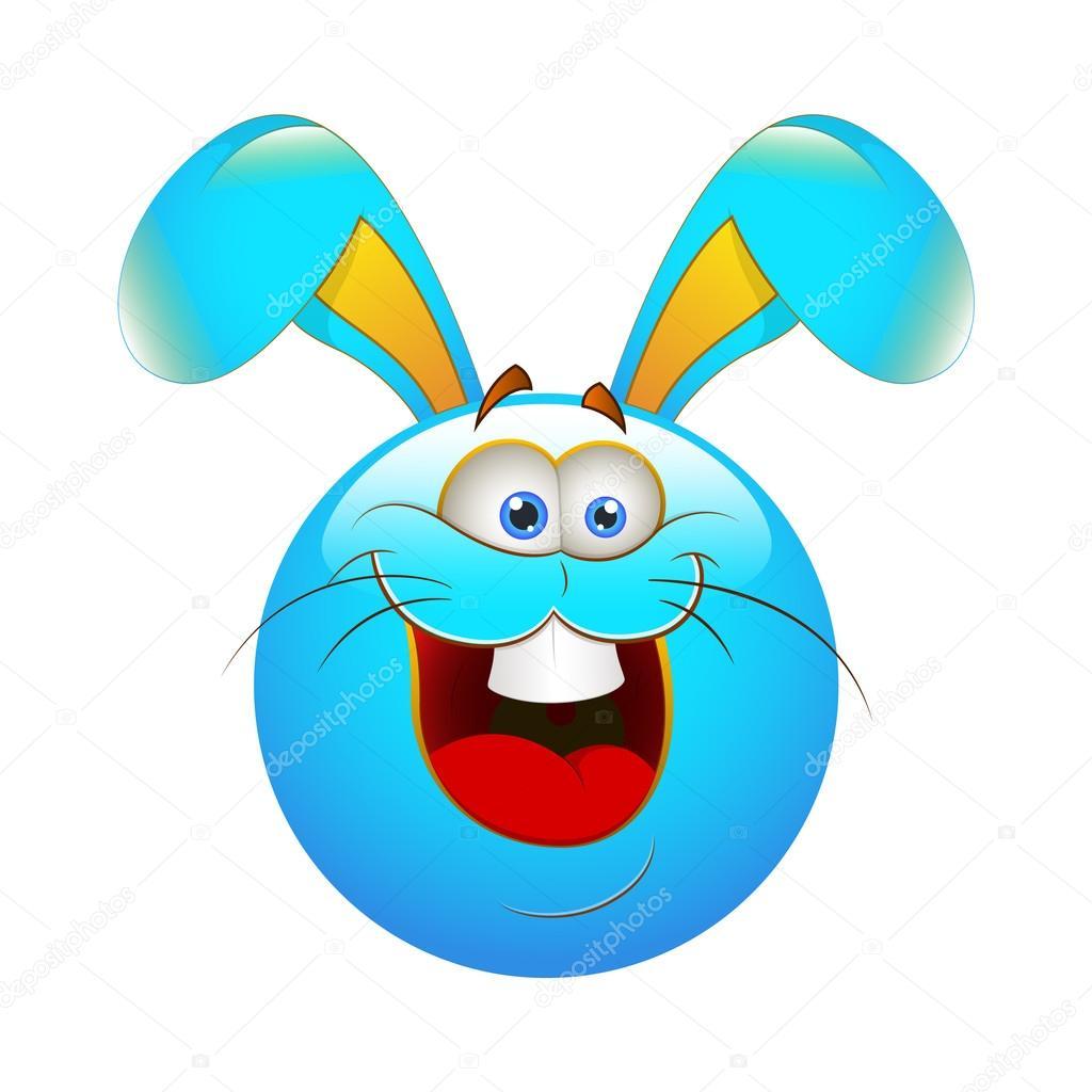 смайлик кролик: