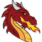 Dragon Vector Mascot — Stock Vector #13781569