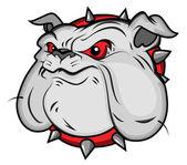 Bulldog Mascot Vector Illustartion — Stock Vector