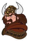 Viking Mascot Vector Illustration — Stock Vector