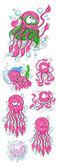 Octopus Vector Illustrations — Stock Vector