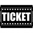 Ticket Vector — Stock Vector