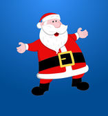 Santa Christmas Vector Illustration — Stock Vector