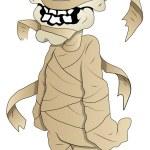 Cartoon Mummy - Vector Illustration — Stock Vector