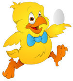 Cute Chicken - Cartoon Character - Vector Illustration — 图库矢量图片