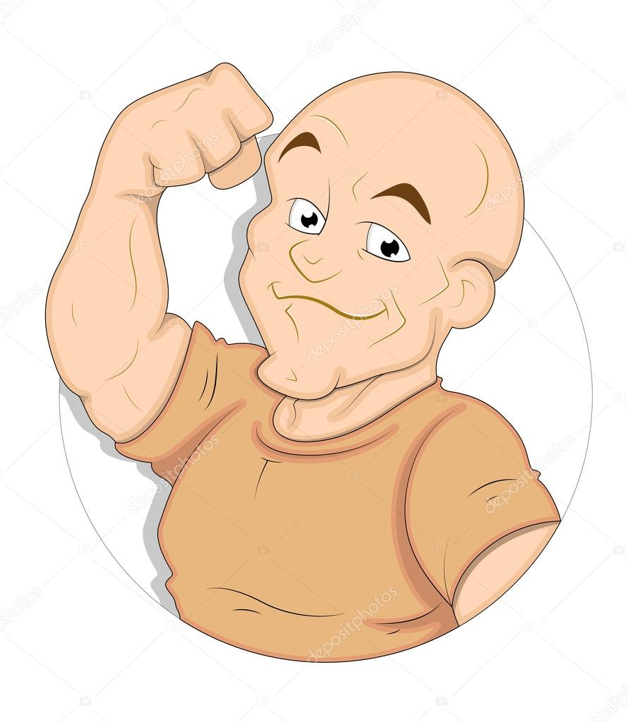 Cartoon bodybuilder stock vector baavli 15369219 - Cartoon body builder ...