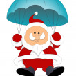 Santa Claus Vector Illustration — Stock Vector